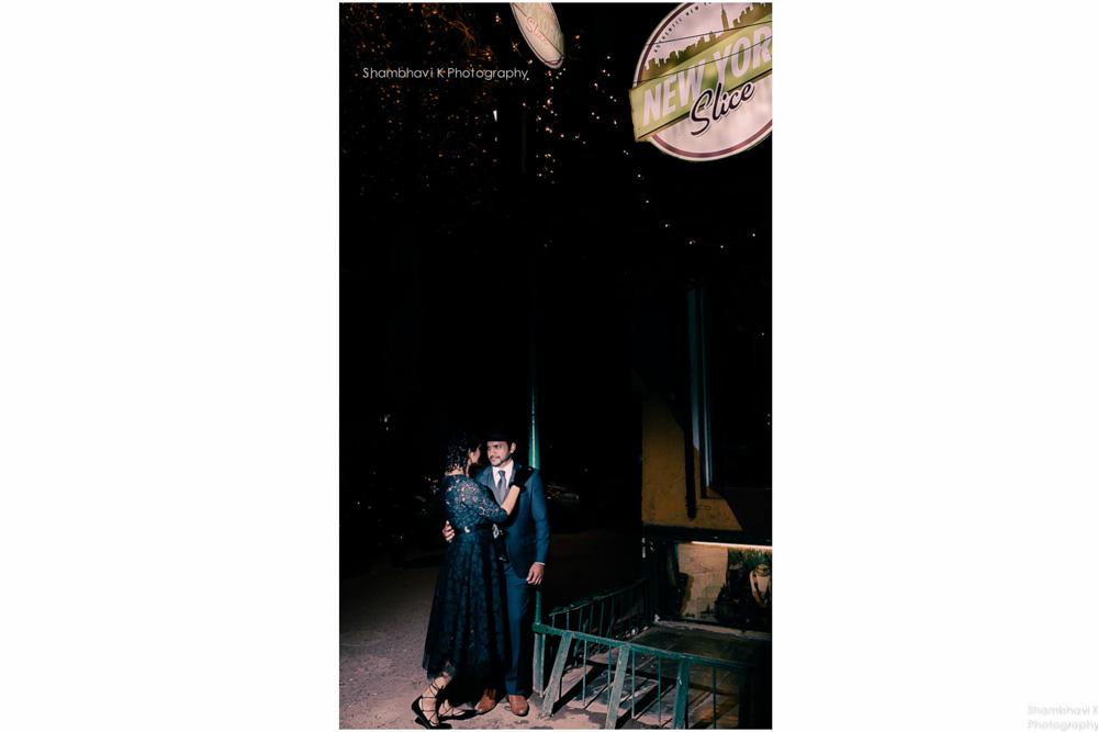 noir themed post wedding photoshoot noida