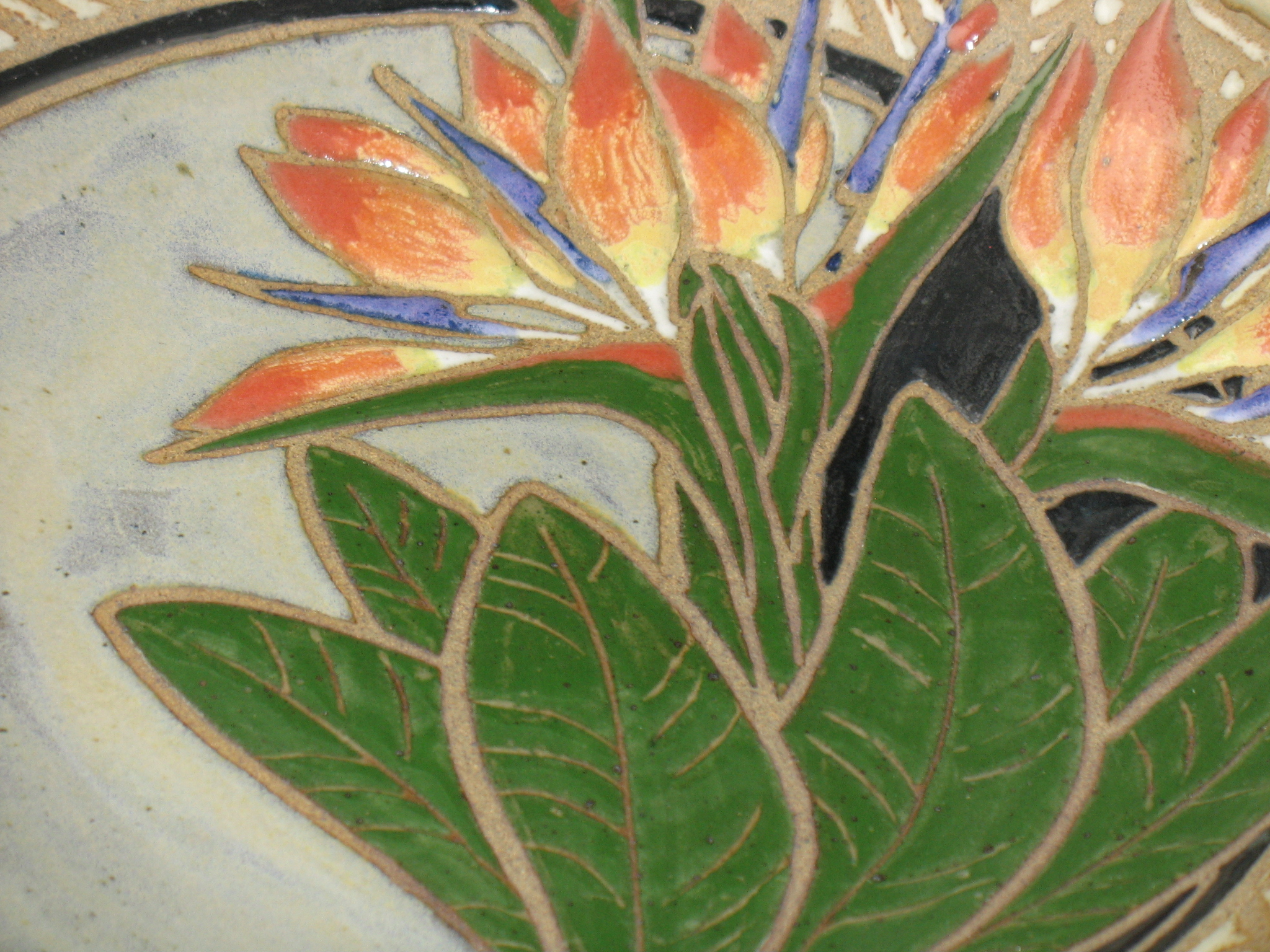 Detail of Bird of Paradise