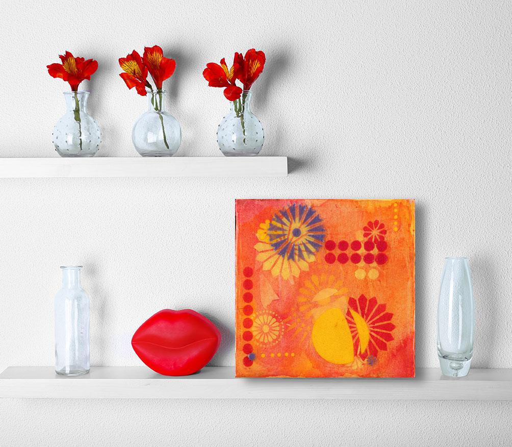 """Calliope 2"" Acrylic on Canvas - Tesia Blackburn"