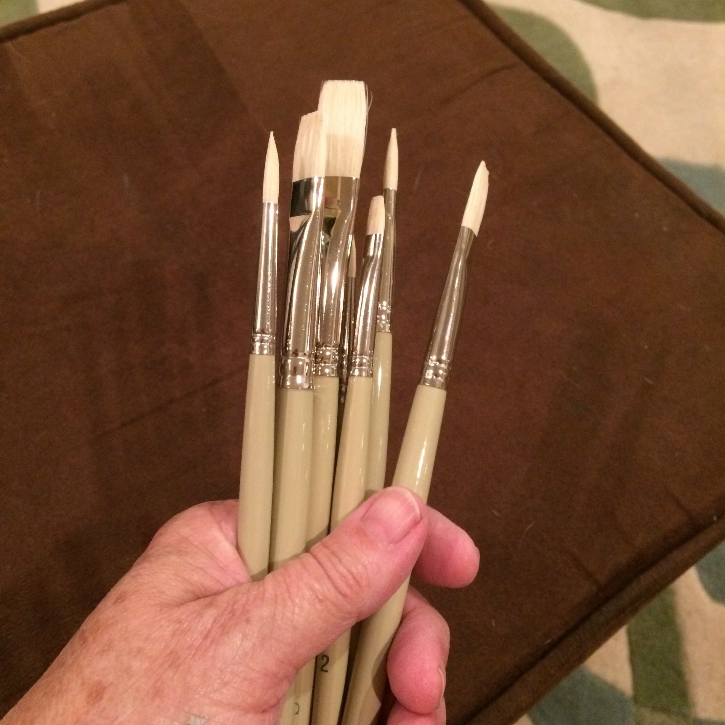 There's nothing like a batch of new brushes!