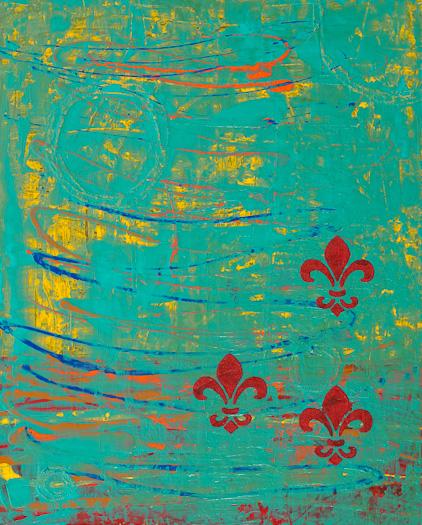 """Italia 9"" Acrylic on Canvas - Tesia Blackburn"