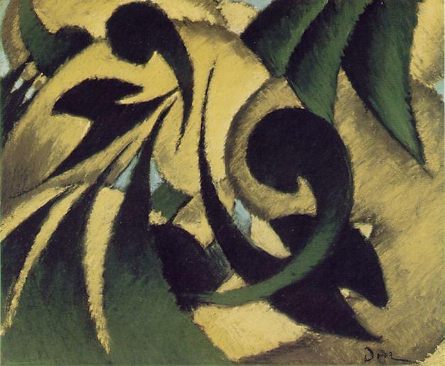"Arthur Dove ""Nature Symbolized"" 1911"