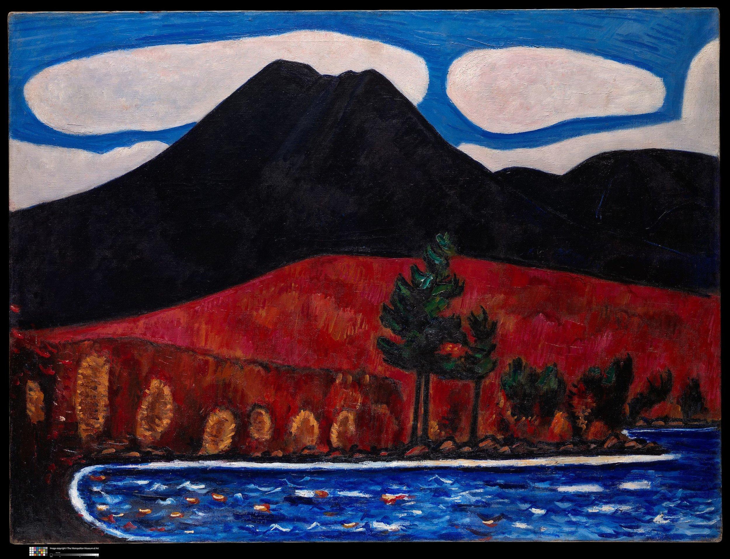 Marsden Hartley Mt. Katahdin (Maine), Autumn -2 , 1939–40