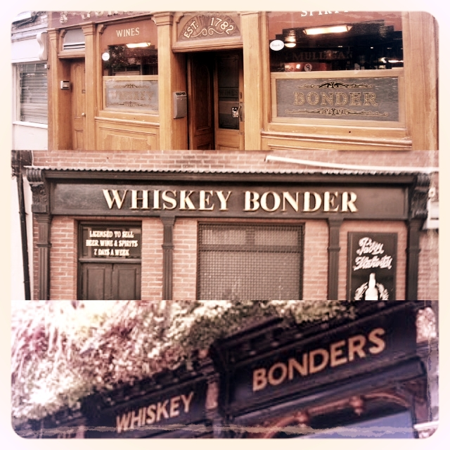 Former Whiskey Bonders Now Pubs