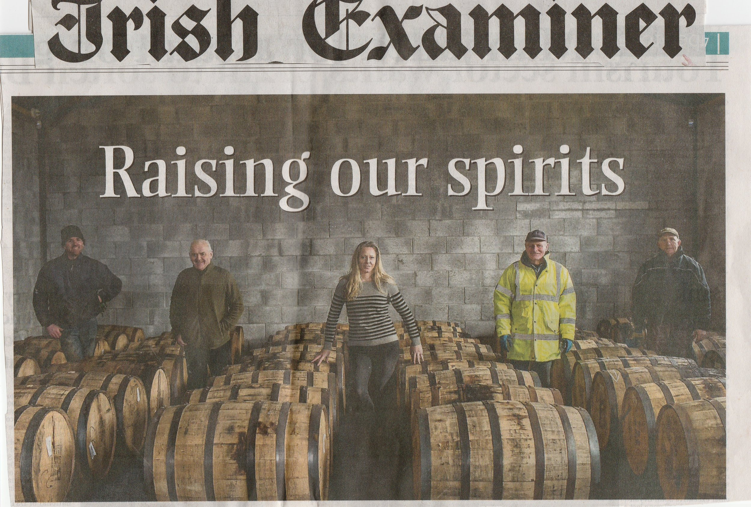 For the Full Irish Examiner Article  CLICK HERE