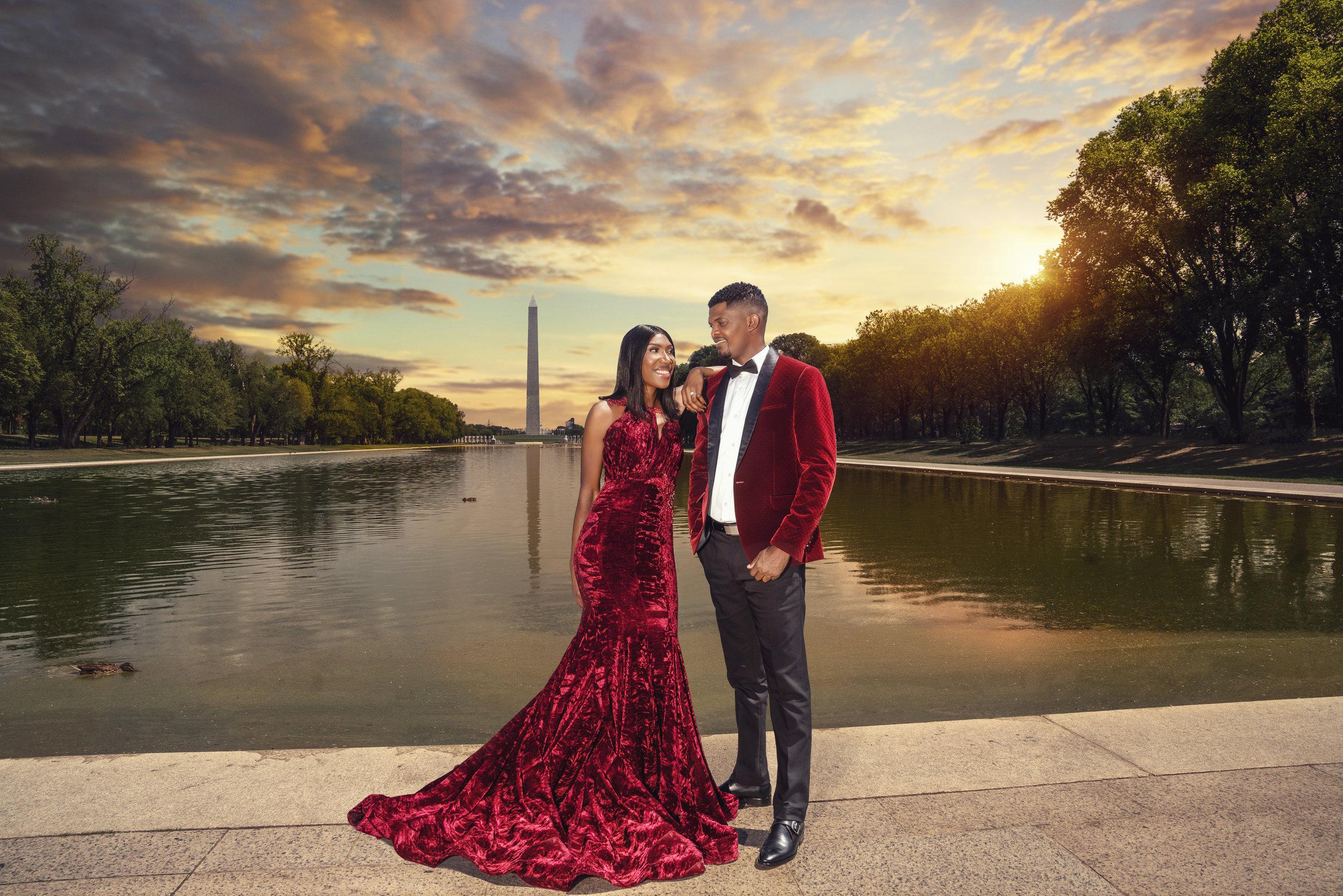 top-wedding-engagement-washington-dc-sunset-lincoln-memorial