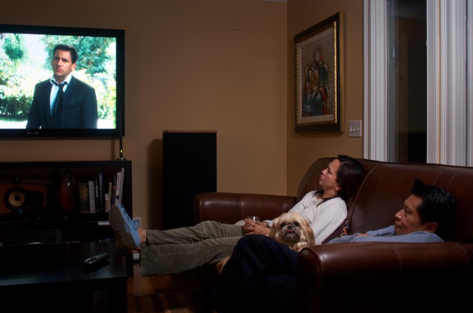 My Parents Watch Crazy Stupid Love  (2013)
