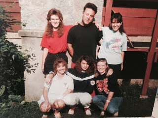 As 16-year-old camper. Me on bottom left. Favorite counselor in middle top row.
