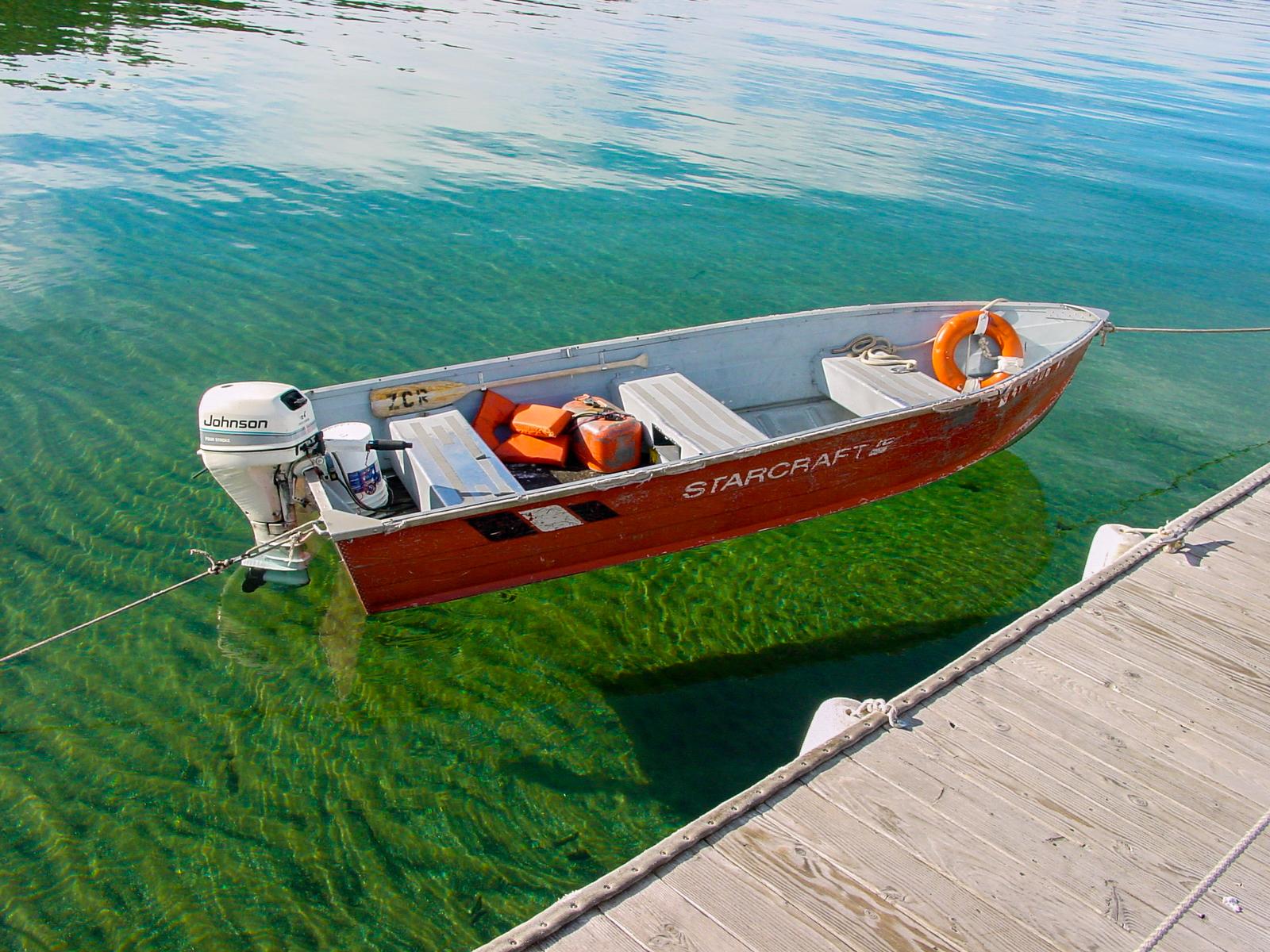 Floating over Lake Tahoe