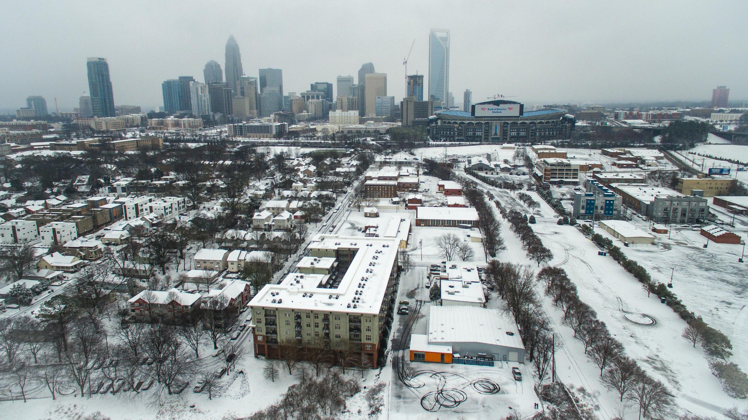 Charlotte Snow Day