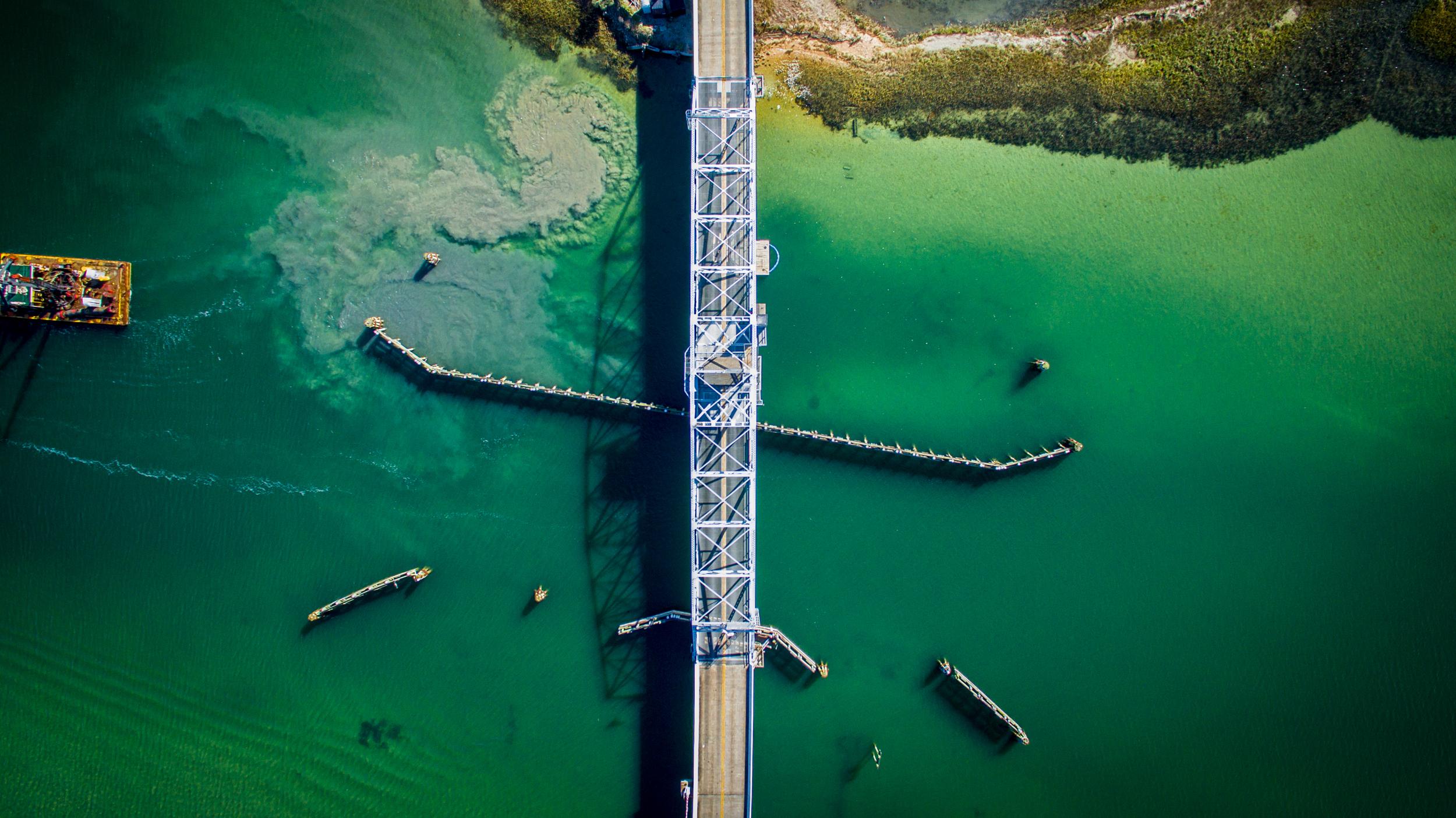 The Bridge to Figure Eight Island
