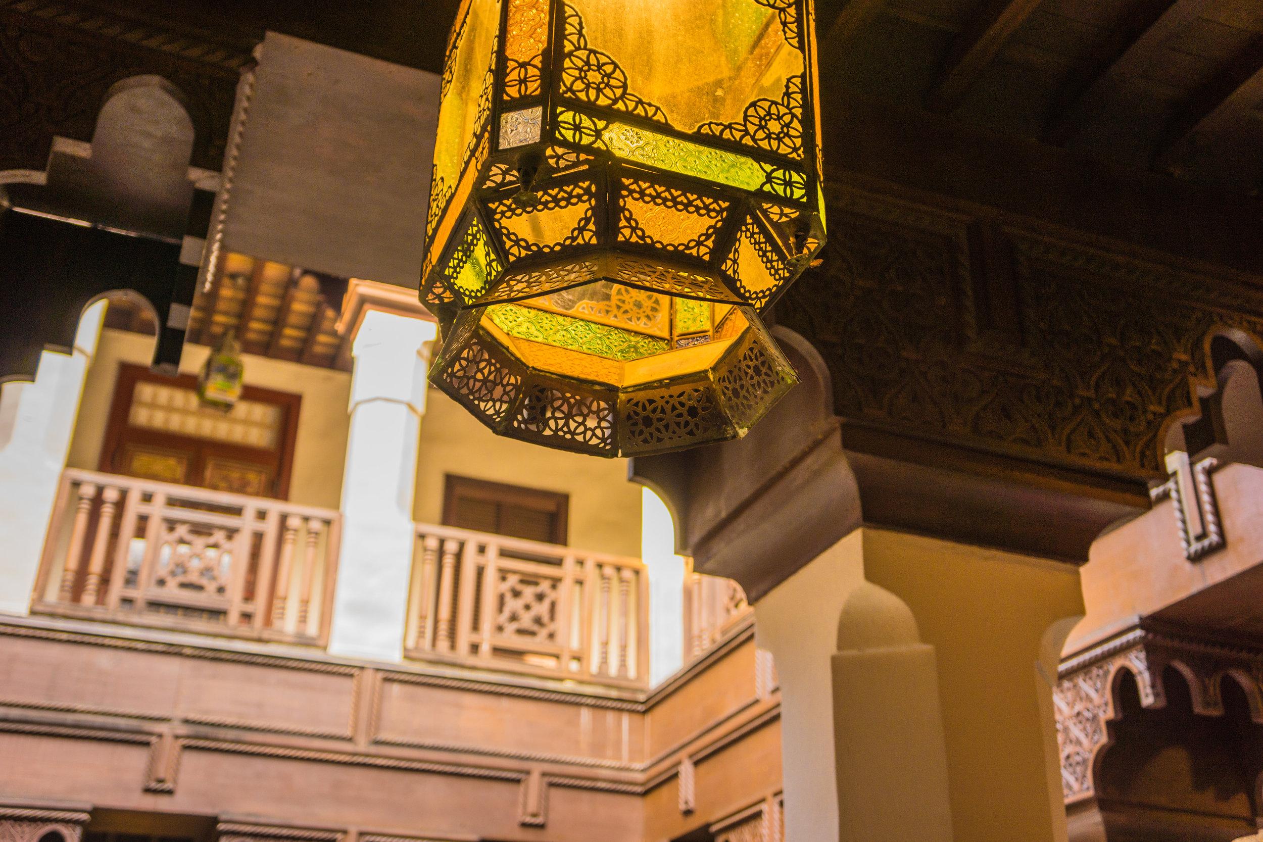 Courtyard Lantern