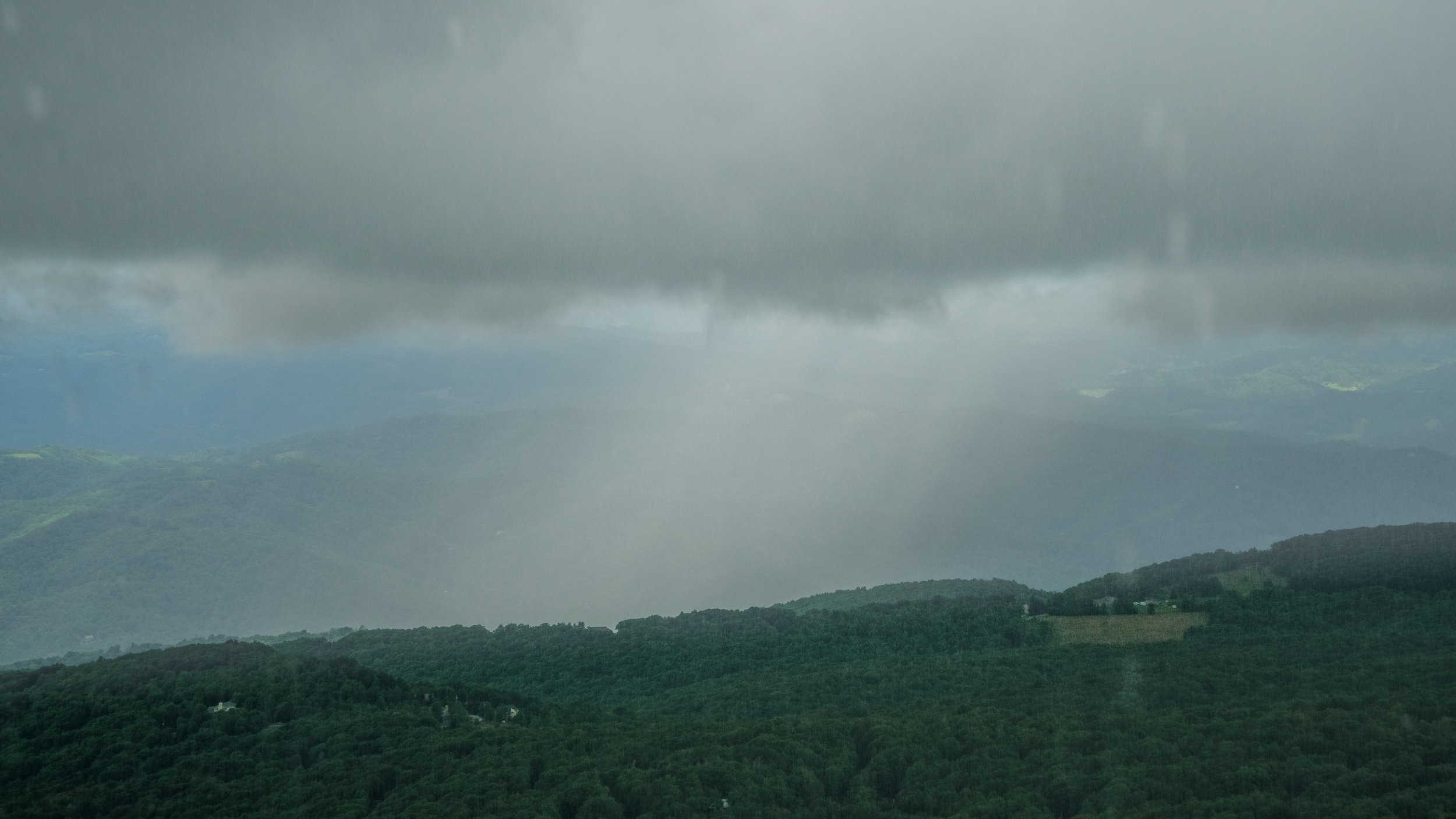 Mountain Rainstorm