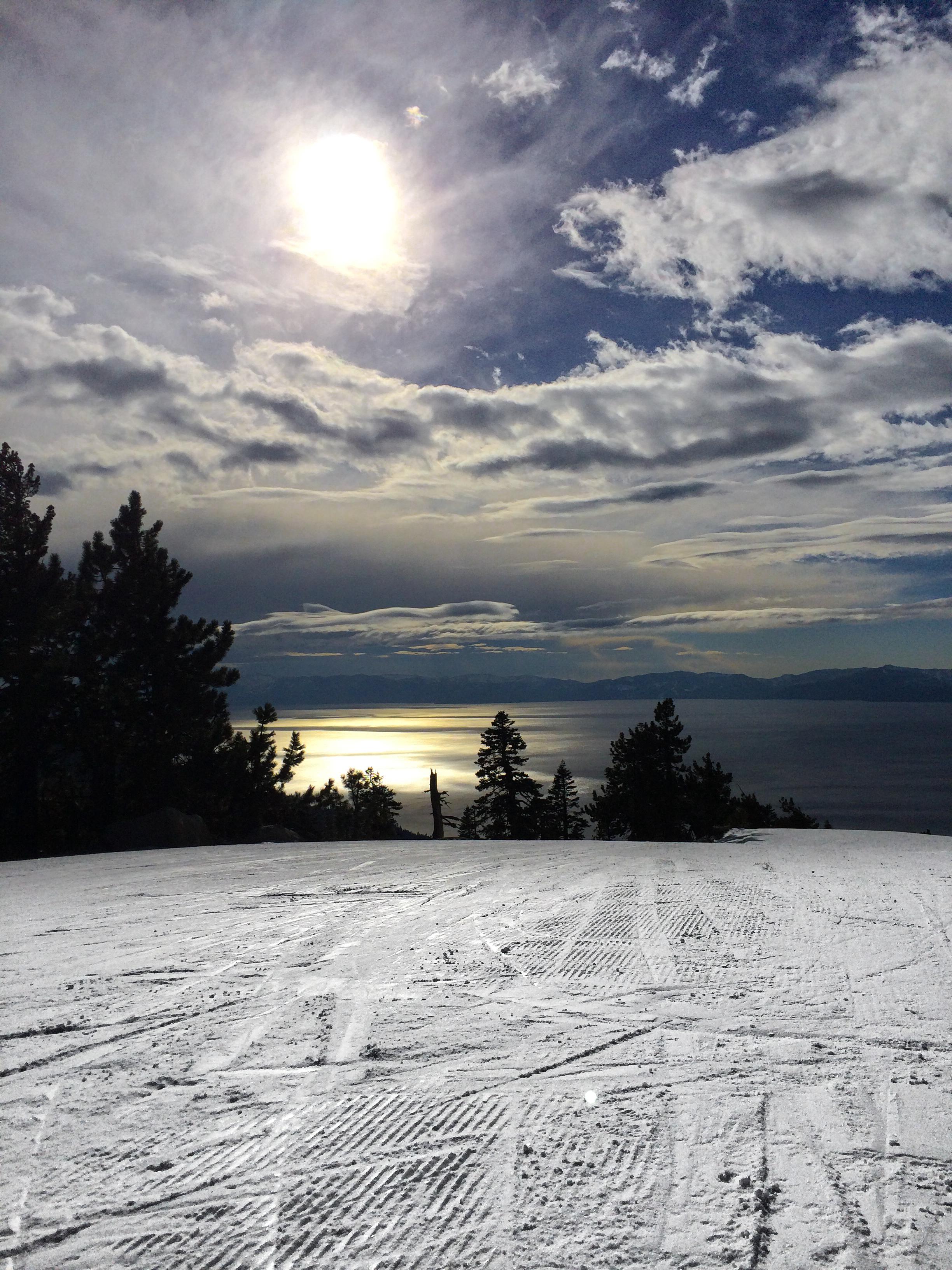 Alone on Diamond Peak