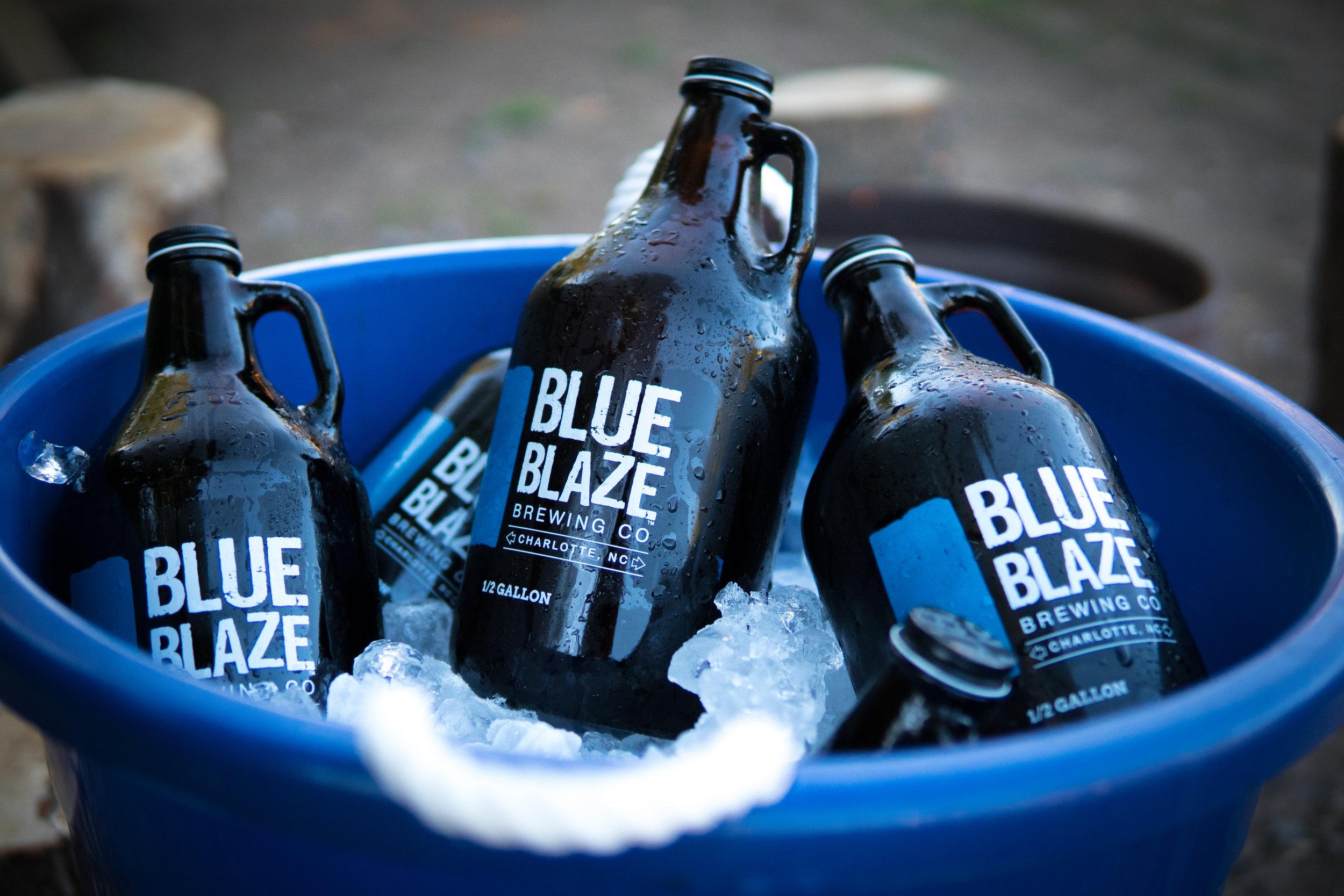 Blue Blaze in a Bucket