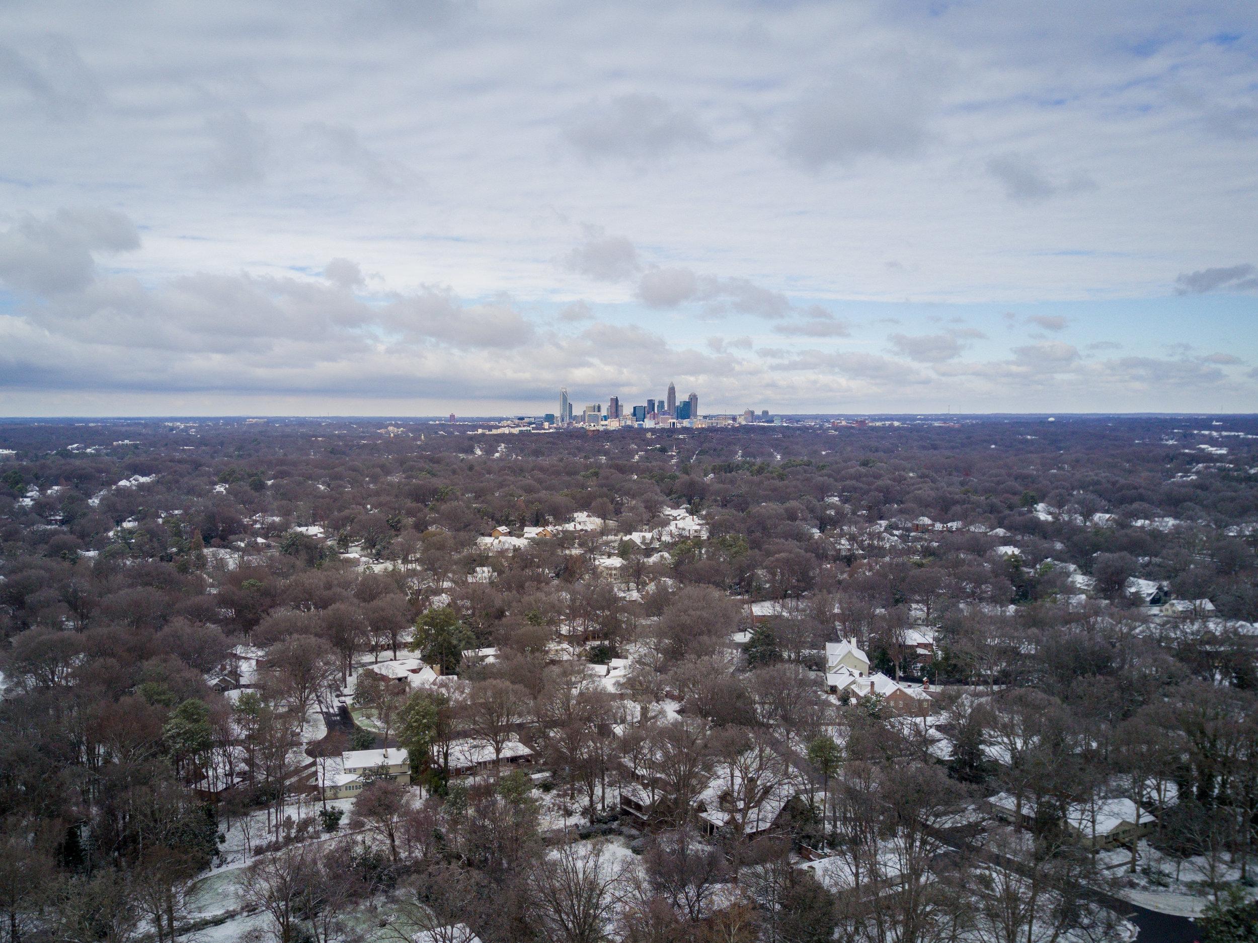 Snow in Southpark
