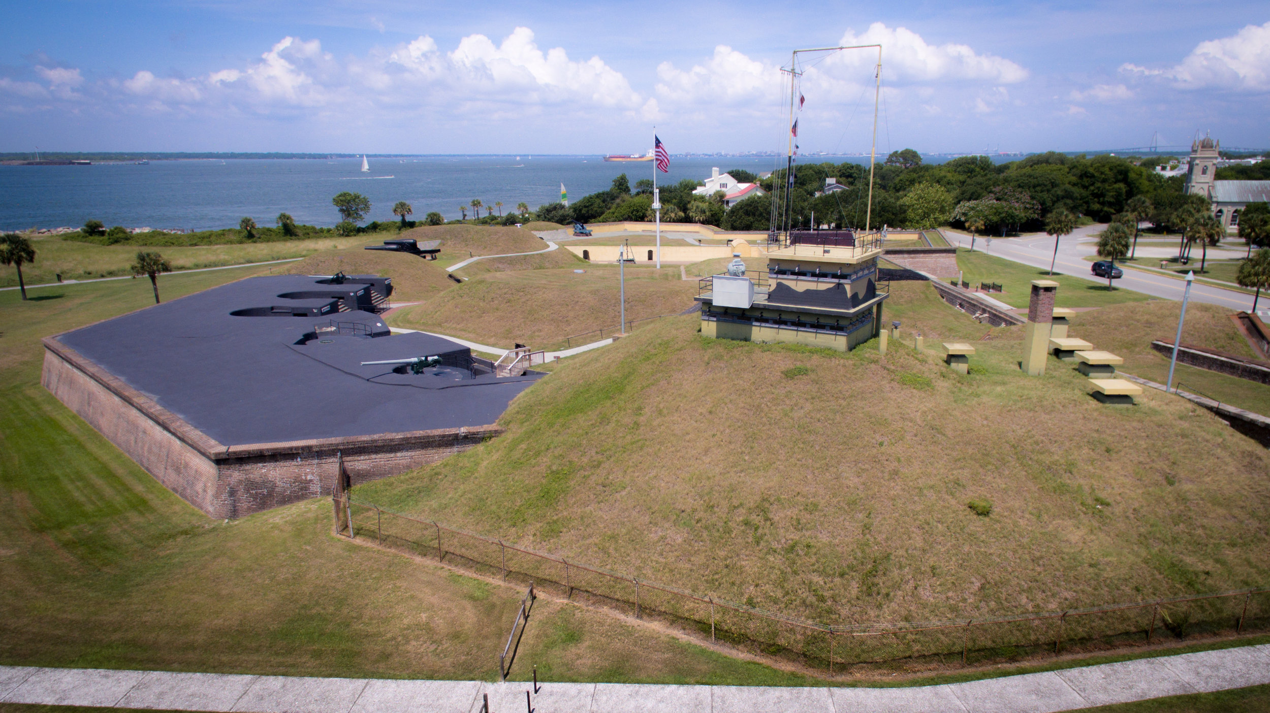 Fort Moultrie to Fort Sumter