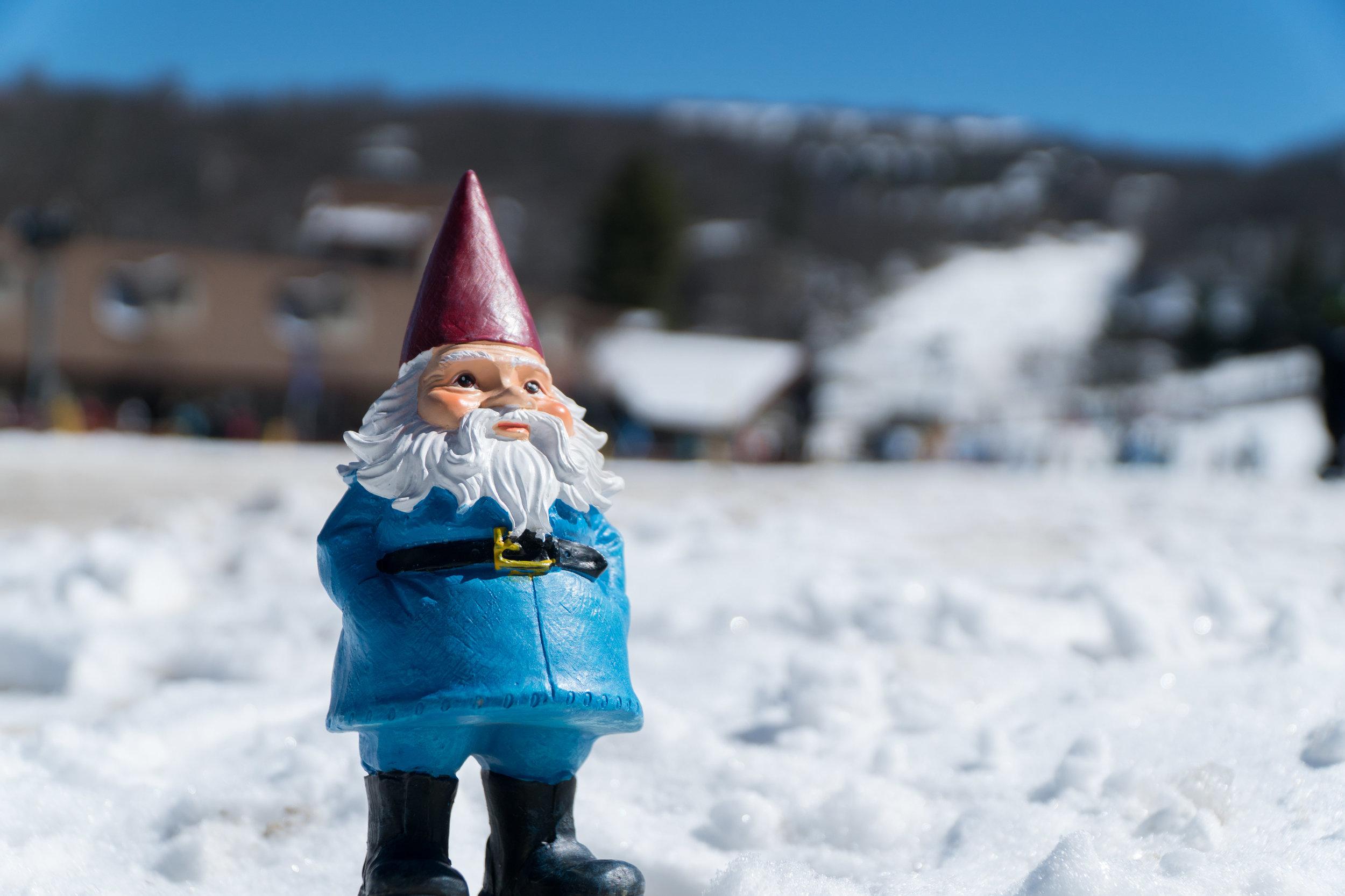 Travelocity's Roaming Gnome Visits Beech Mountain
