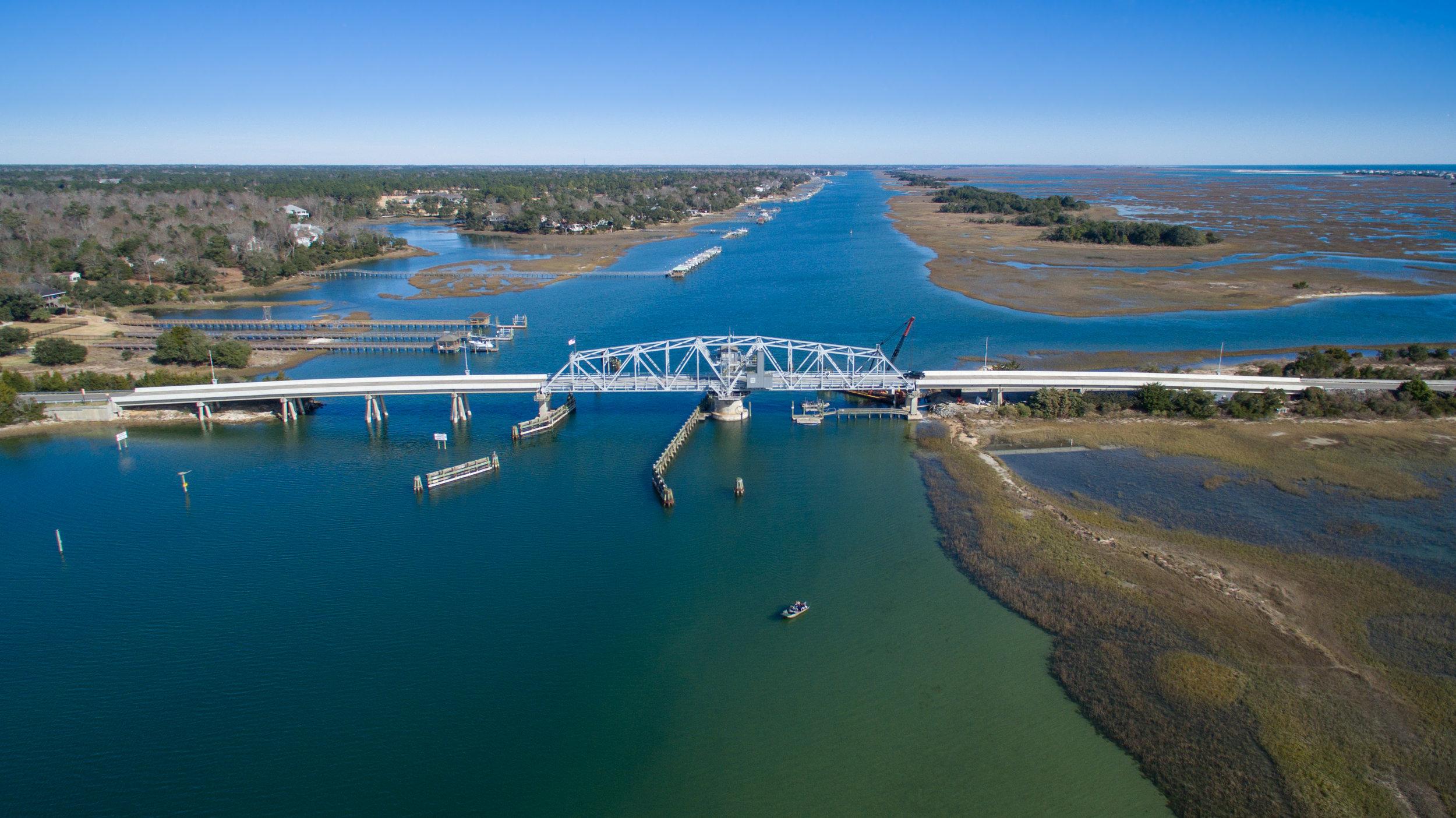 Figure Eight Island Bridge