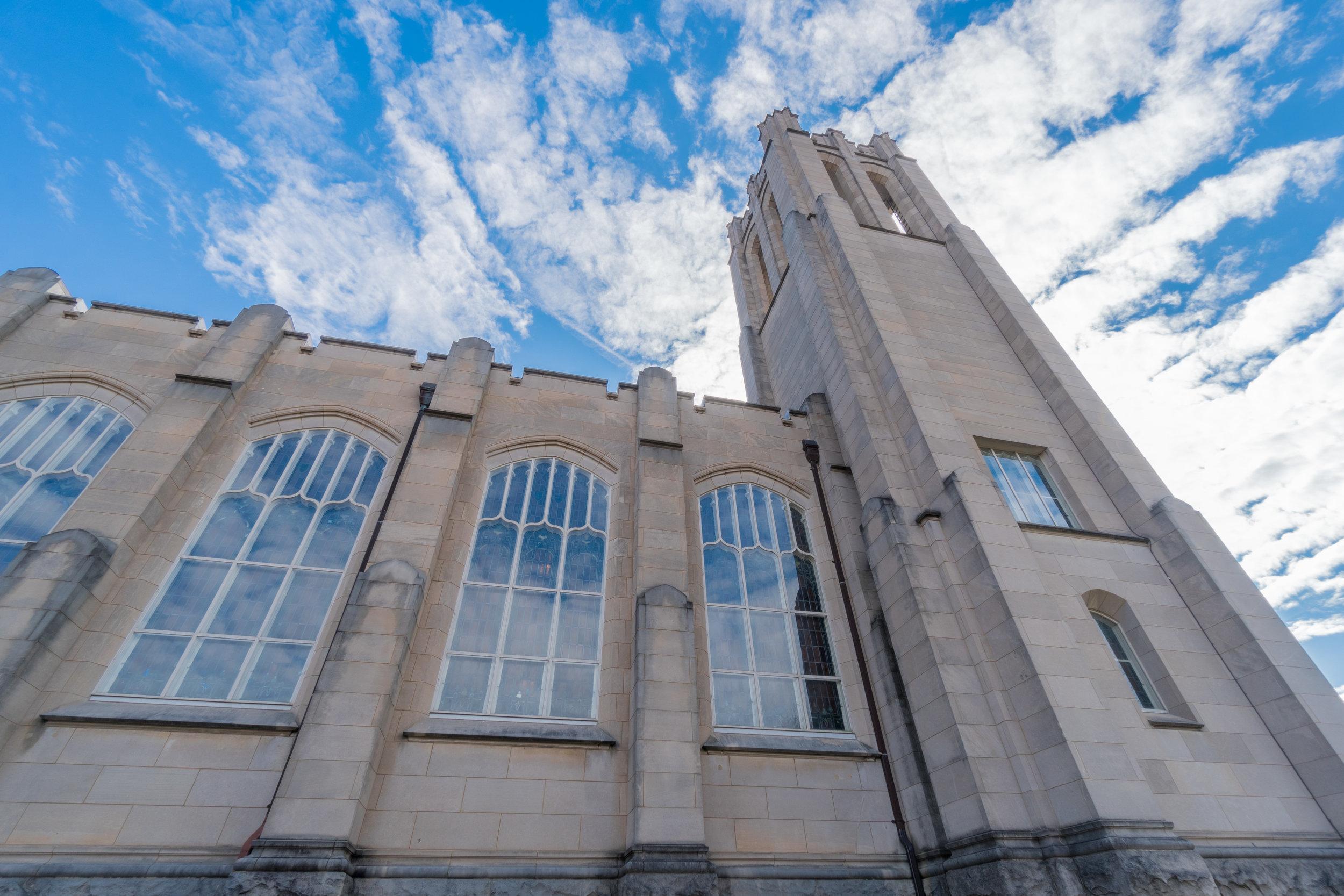 Carolina Blue Dilworth Church