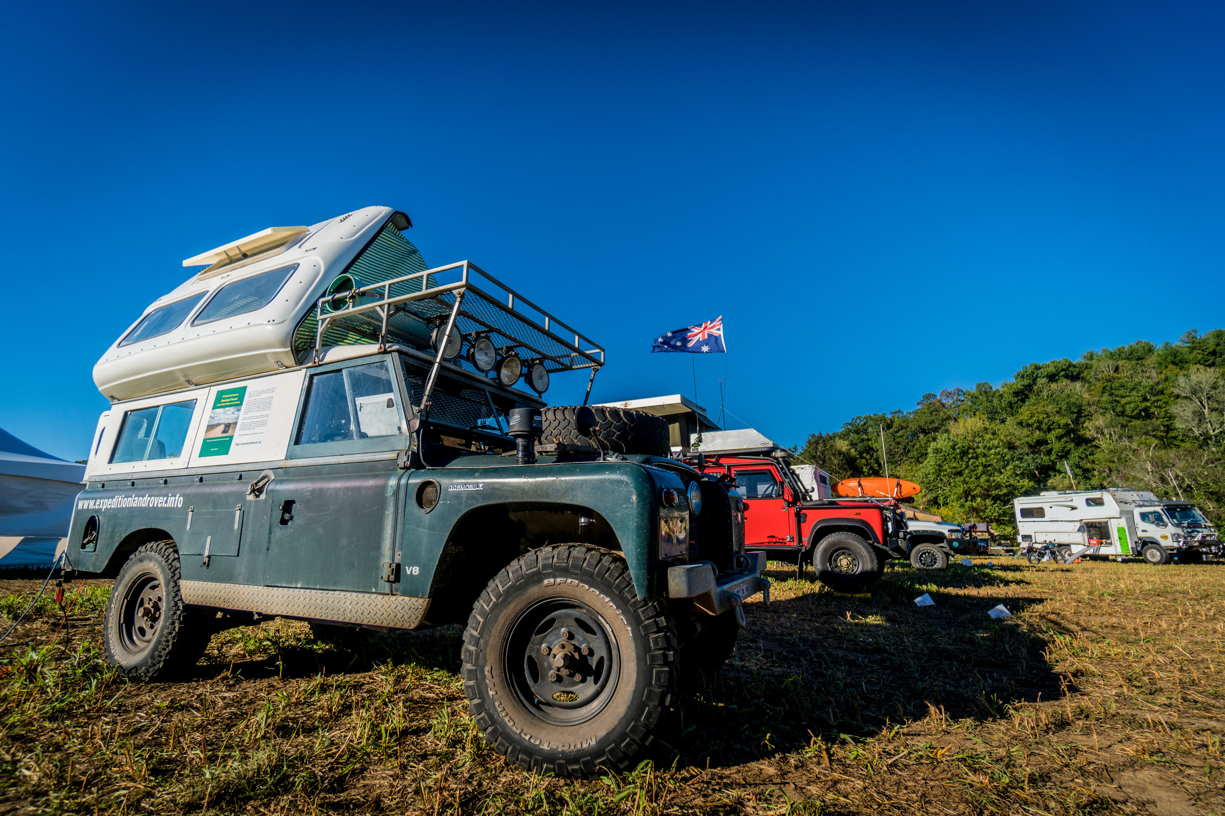 Expedition Overland Rover