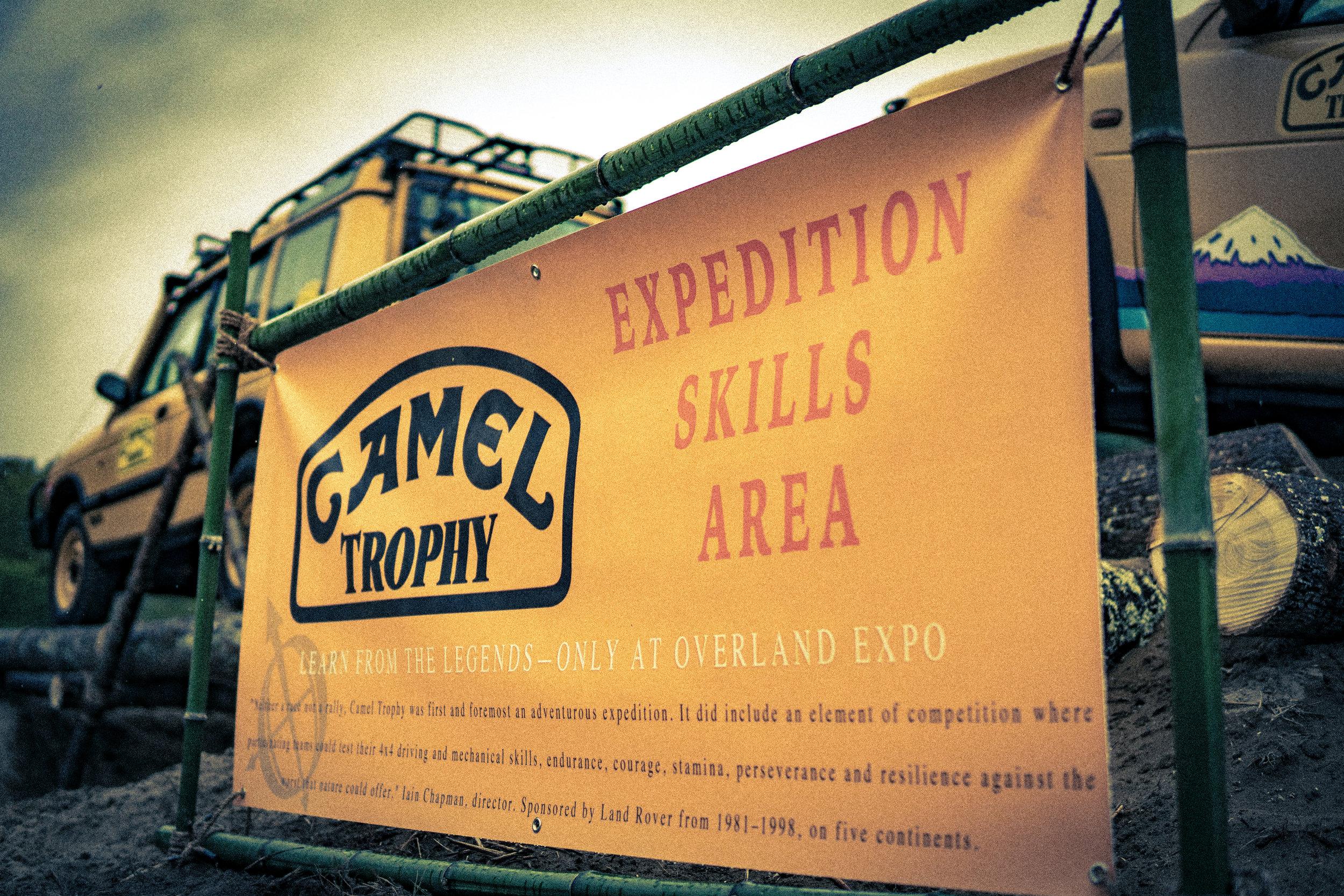 Camel Trophy Expedition Skills