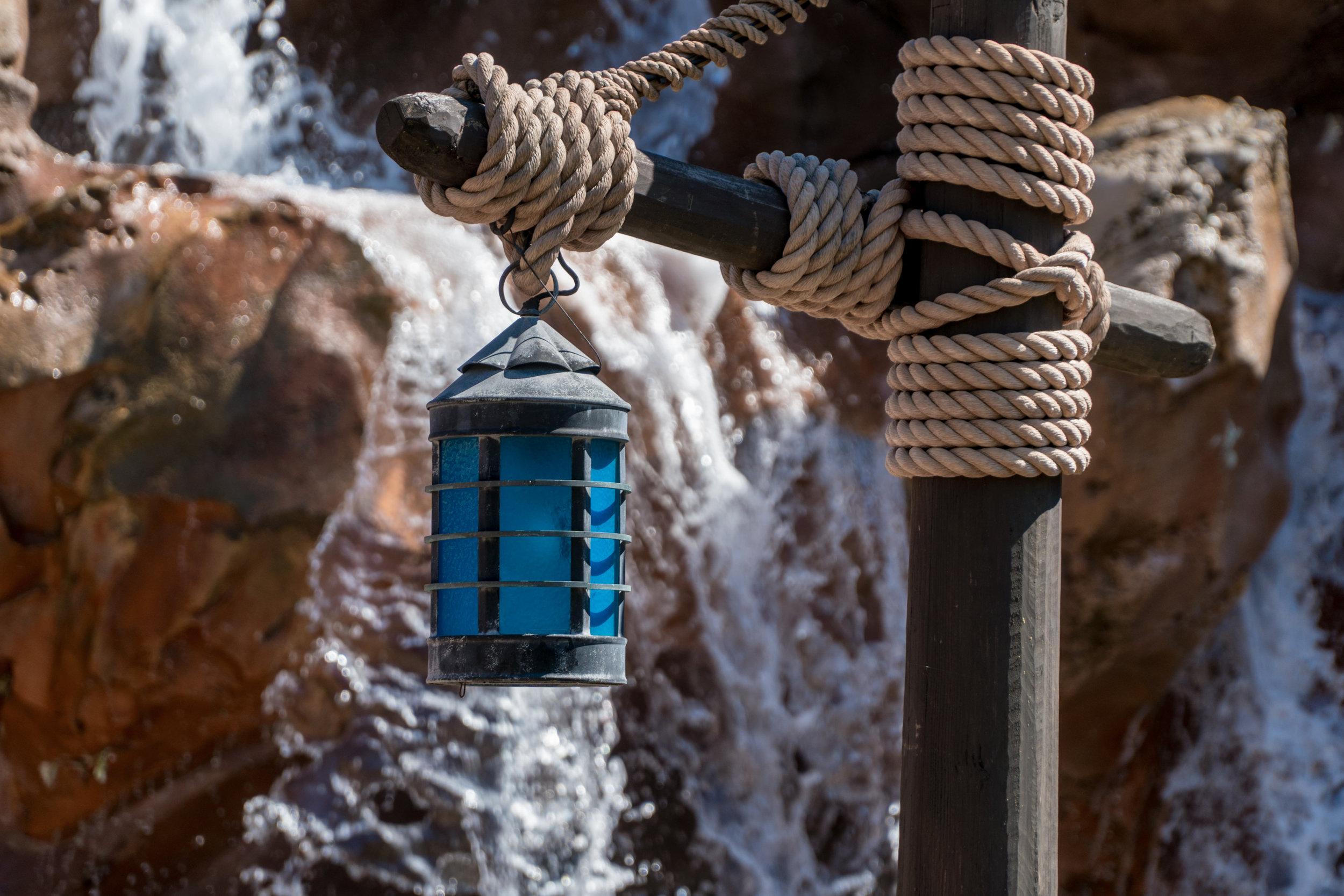 Waterfall Lantern