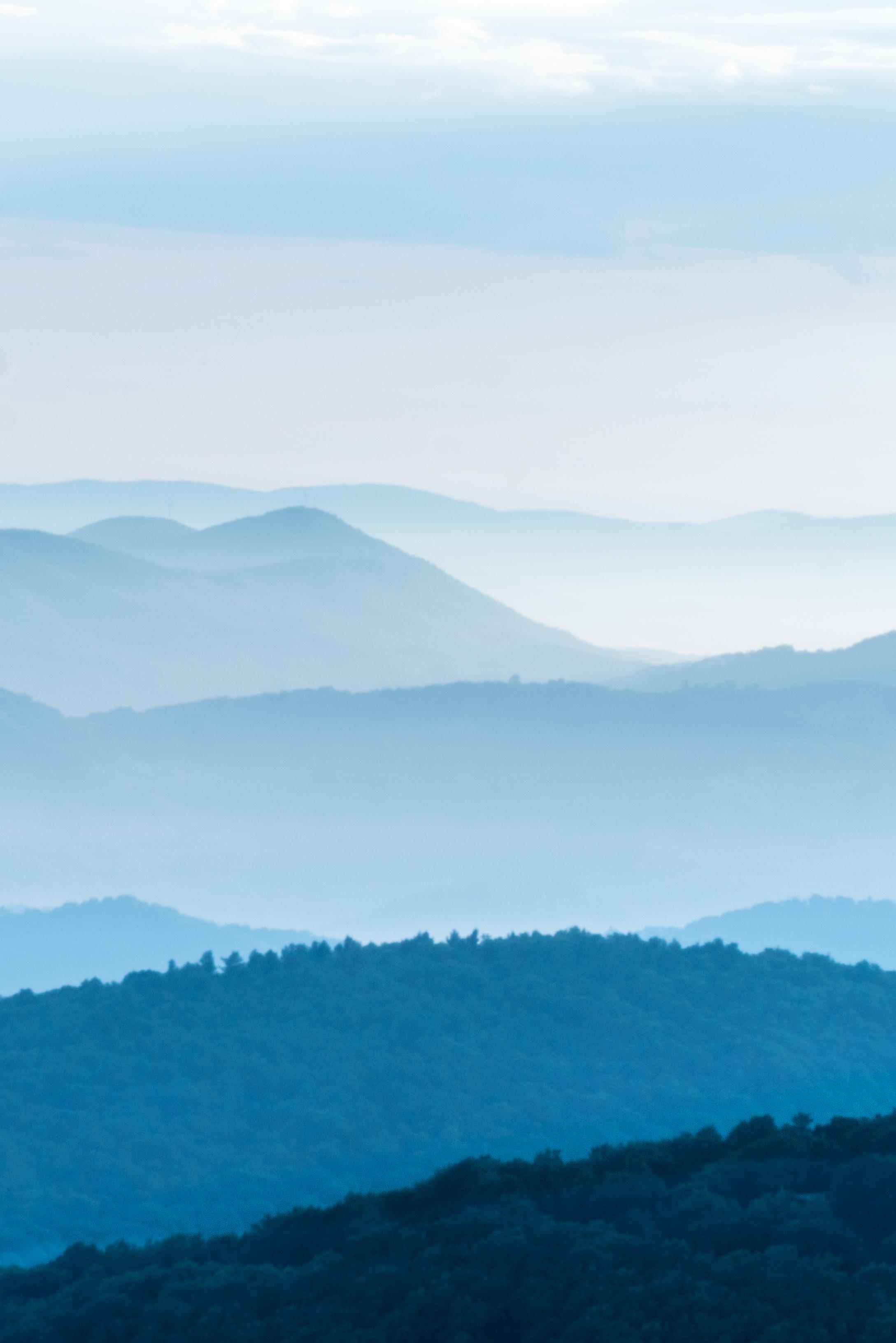 Blue Ridges on Beech Mountain