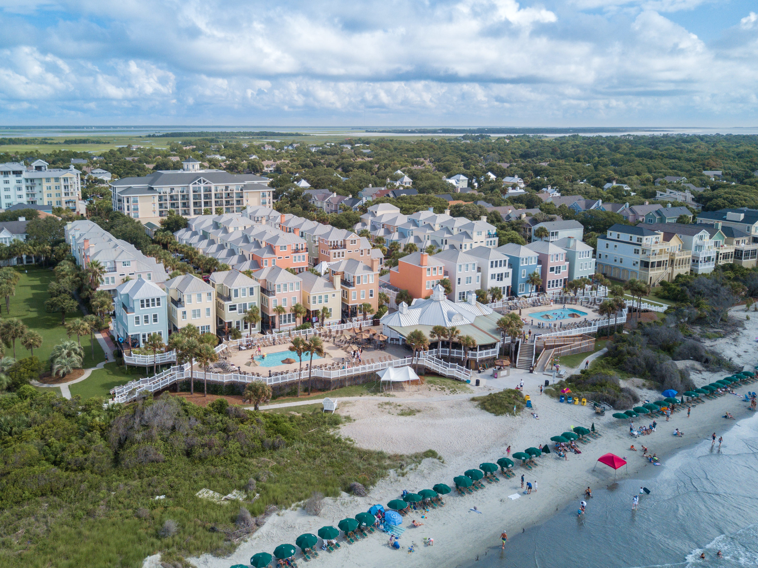 Beachside Charleston Single Homes
