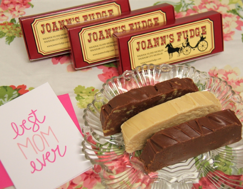 Choose from a variety of fudge flavors and box sizes for the perfect Mother's Day gift