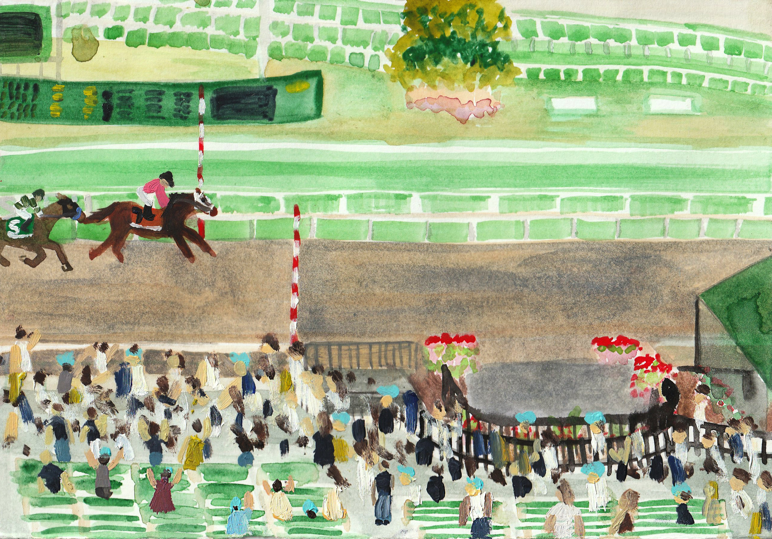 secretariat-painting-katrina-eugenia-oil-painting-painter-monmouth-park-racetrack-monmouth-racetrack-maximum-security-haskell-2019-thoroughbred-racing-racehorse-painting-race-horse-painting12.jpg