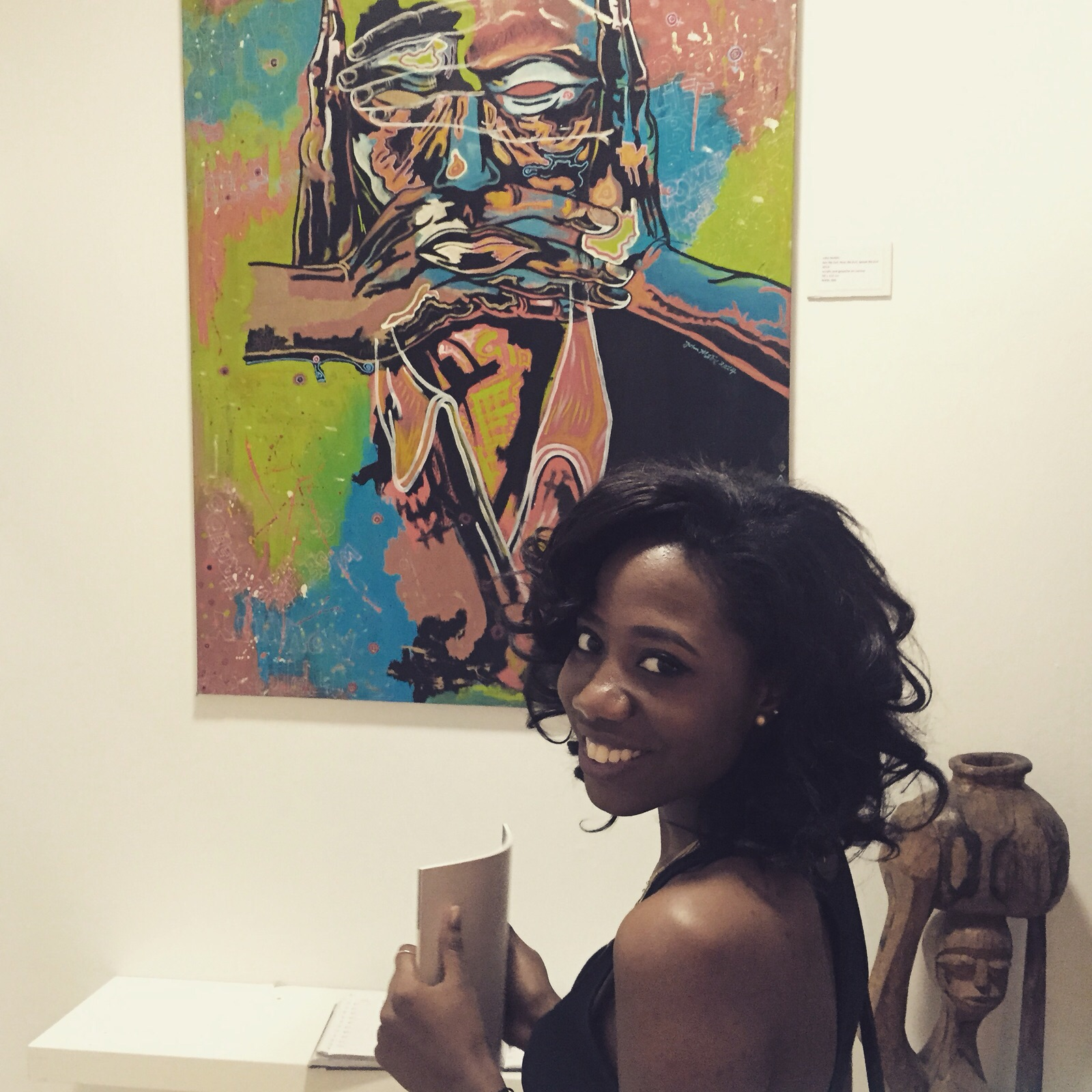 Art-crushing on this John Madu painting