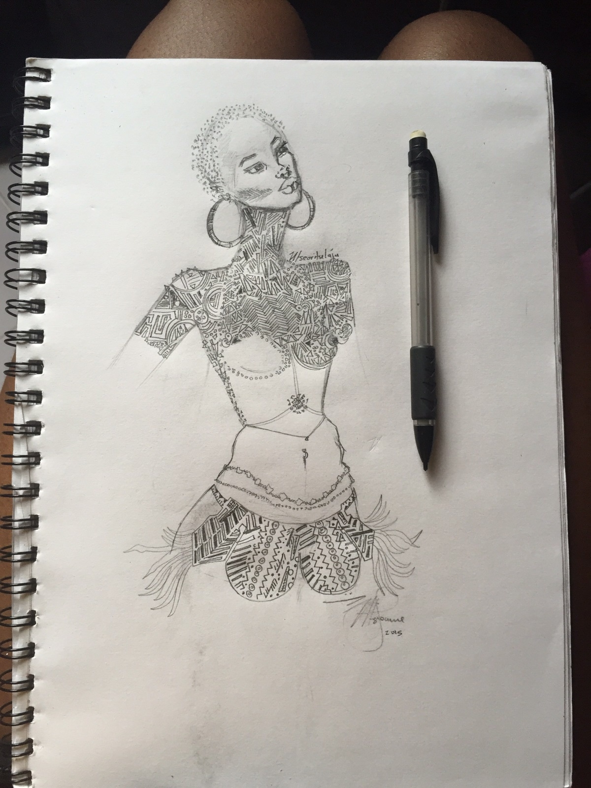 I am in love with this sketch