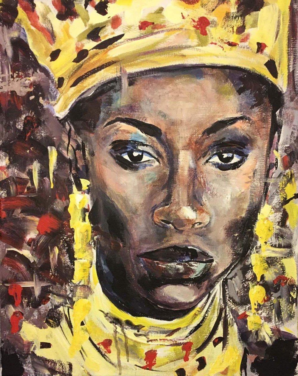The Queen of Sheba... -