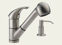 Delta Stainless Single-Handle Pull-out Faucet