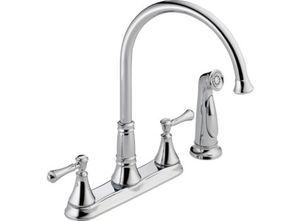 Delta Cassidy Chrome Kitchen Faucet