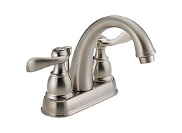 Delta Windemere Stainless Bath Lav Faucet