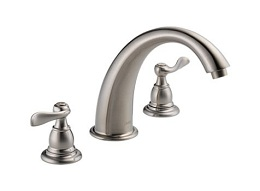 Delta Windemere Stainless Roman Tub Faucet