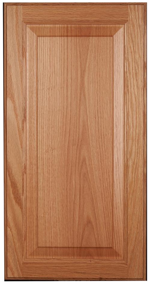Raised-panel, square door