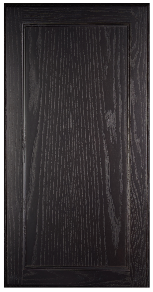 Recessed-panel, square door