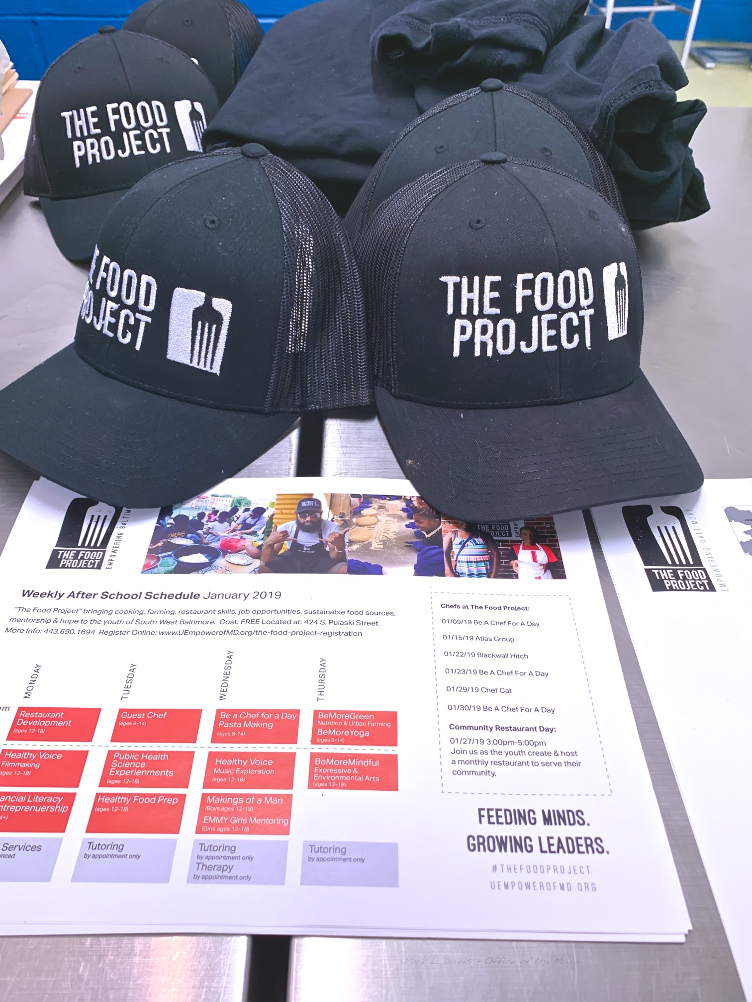 January 26, 2019 - Site visit to The Food Project, 424 S. Pulaski Street 2019-01-26.jpg