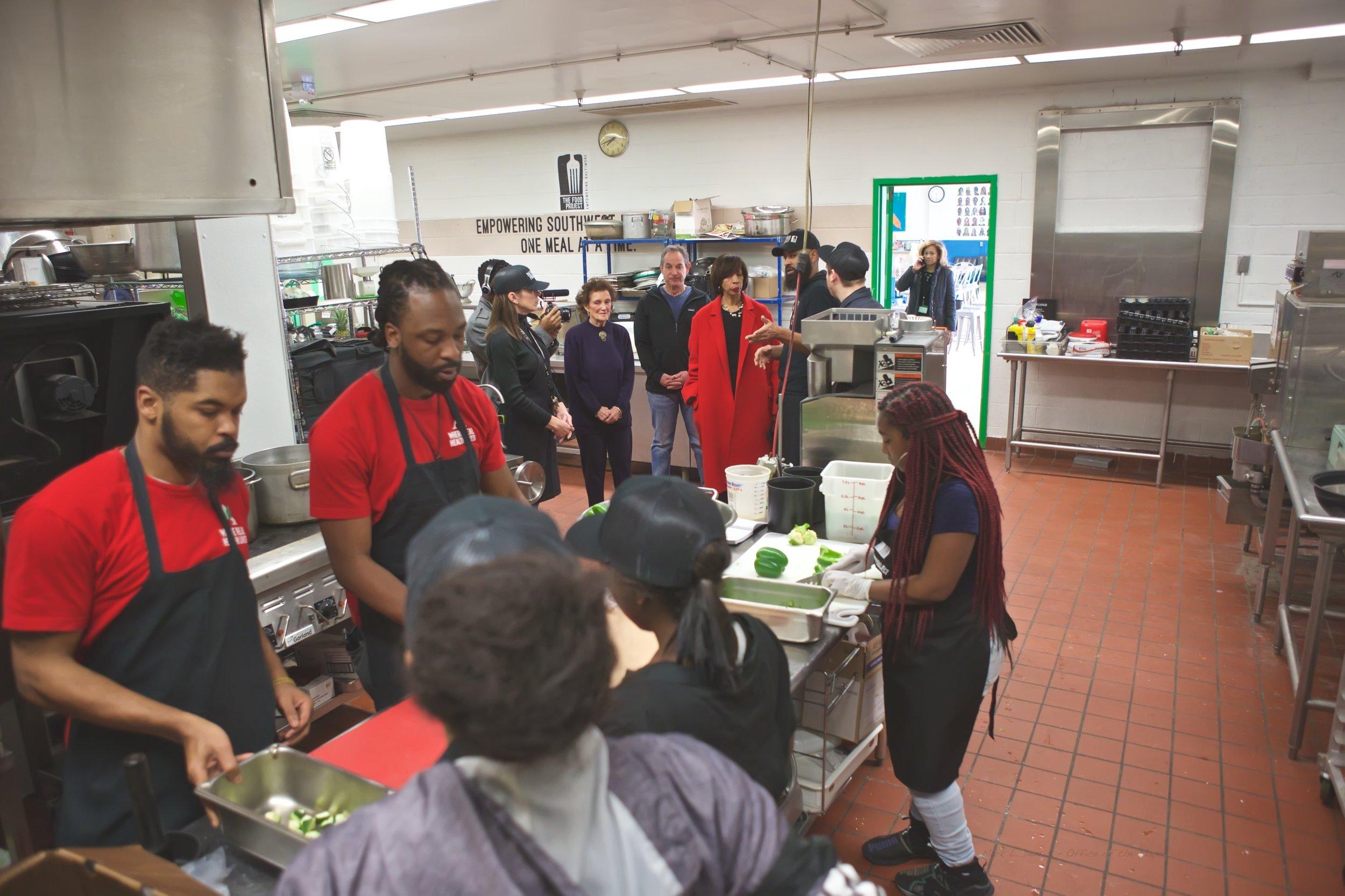 January 26, 2019 - Site visit to The Food Project, 424 S. Pulaski Street 2019-01-26 (6).jpg