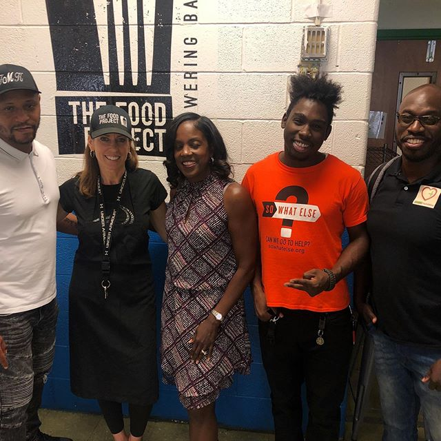 Tuesday KelleySwoope from WMAR-2 News Baltimore came to discuss the hurdles of our families at The Food Project. The struggles are real. #Jobs #IDs #Education #Survival #SWBaltimore