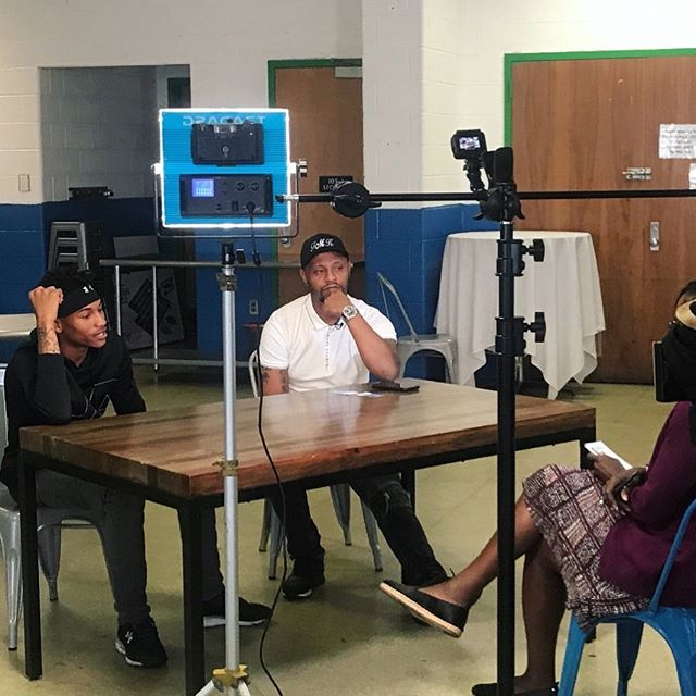 Tuesday KelleySwoope from WMAR-2 News Baltimore came to discuss the hurdles of our families at The Food Project. The struggles are real. #Jobs #IDs #Education #Survival #SWBaltimore @formykidz @Bemoregreen