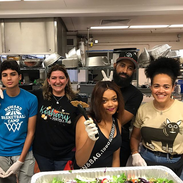 BEAUTIFUL MEAL FRIDAY by @koshary_by_misteka! Be More Green: Divayogi & City Weeds partnered up with #DontEatAlone to provide 100 healthy meals free to the youth at The Food Project today at 6PM.  #Eat2Live: Served the following: - Koshary / vegan and gluten free grain bowl (consist of rice, lentils, pasta, chickpea and topped with tomato sauce, vinaigrette and fried onions). - green mixes salad / vegan and gluten free - vegan kofta /contains soy/ vegan and gluten free - beyond meat kofta (kabob style) vegan - dips (hummus, baba ganoush) and mixed vegetable pickles. - bread, donated by Great Harvest, Columbia! Be More Green: Divayogi & City Weeds partnered up with #DontEatAlone to provide 100 healthy meals free to the youth at The Food Project today at 6PM.  #Eat2Live: Served the following: - Koshary / vegan and gluten free grain bowl (consist of rice, lentils, pasta, chickpea and topped with tomato sauce, vinaigrette and fried onions). - green mixes salad / vegan and gluten free - vegan kofta /contains soy/ vegan and gluten free - beyond meat kofta (kabob style) vegan - dips (hummus, baba ganoush) and mixed vegetable pickles. - bread, donated by Great Harvest, Columbia