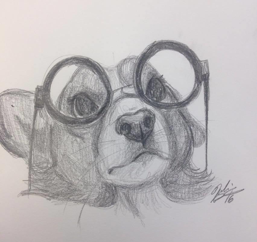Sketch by Julie Garrity