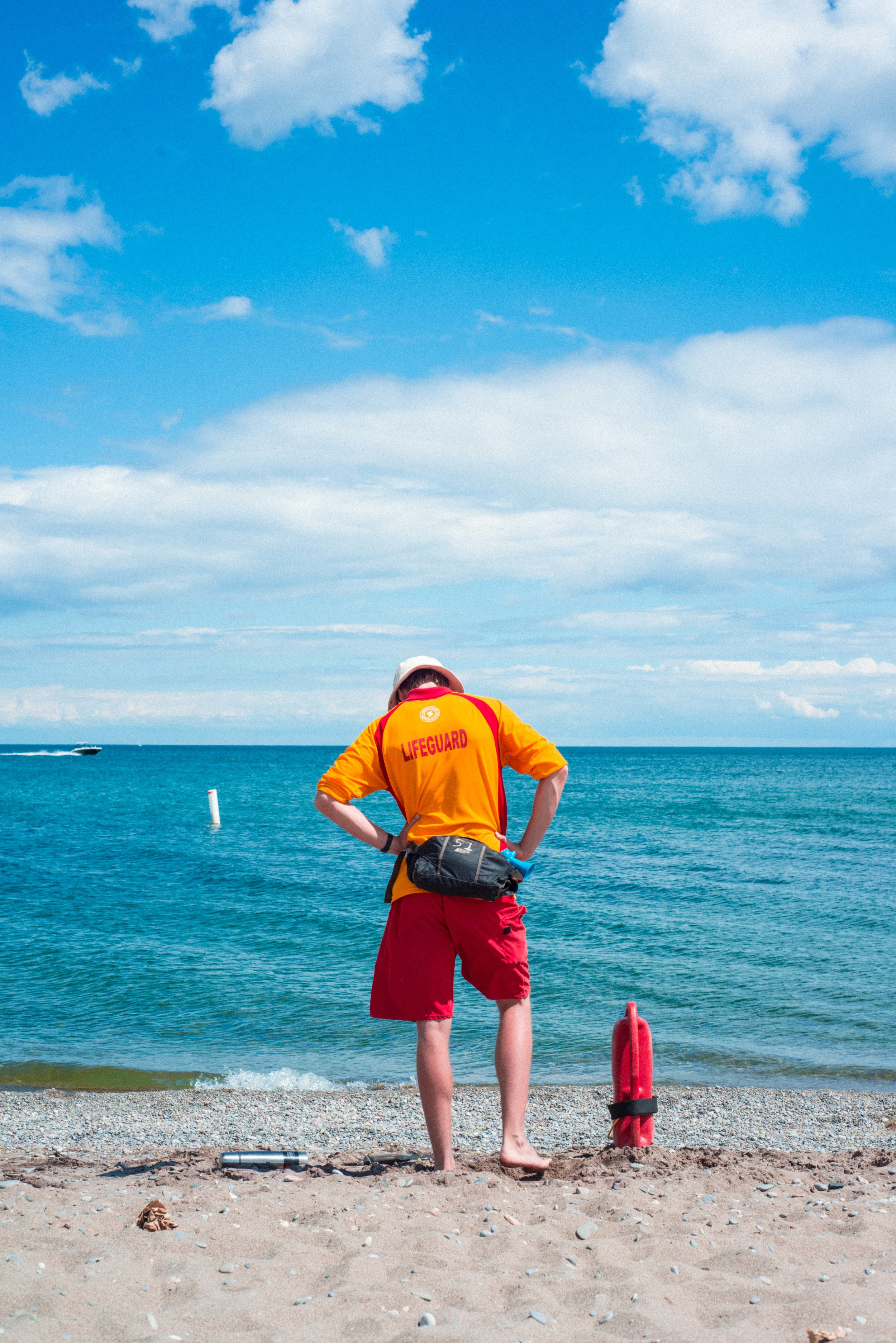 ryan thompson creative photography - insecure life guard