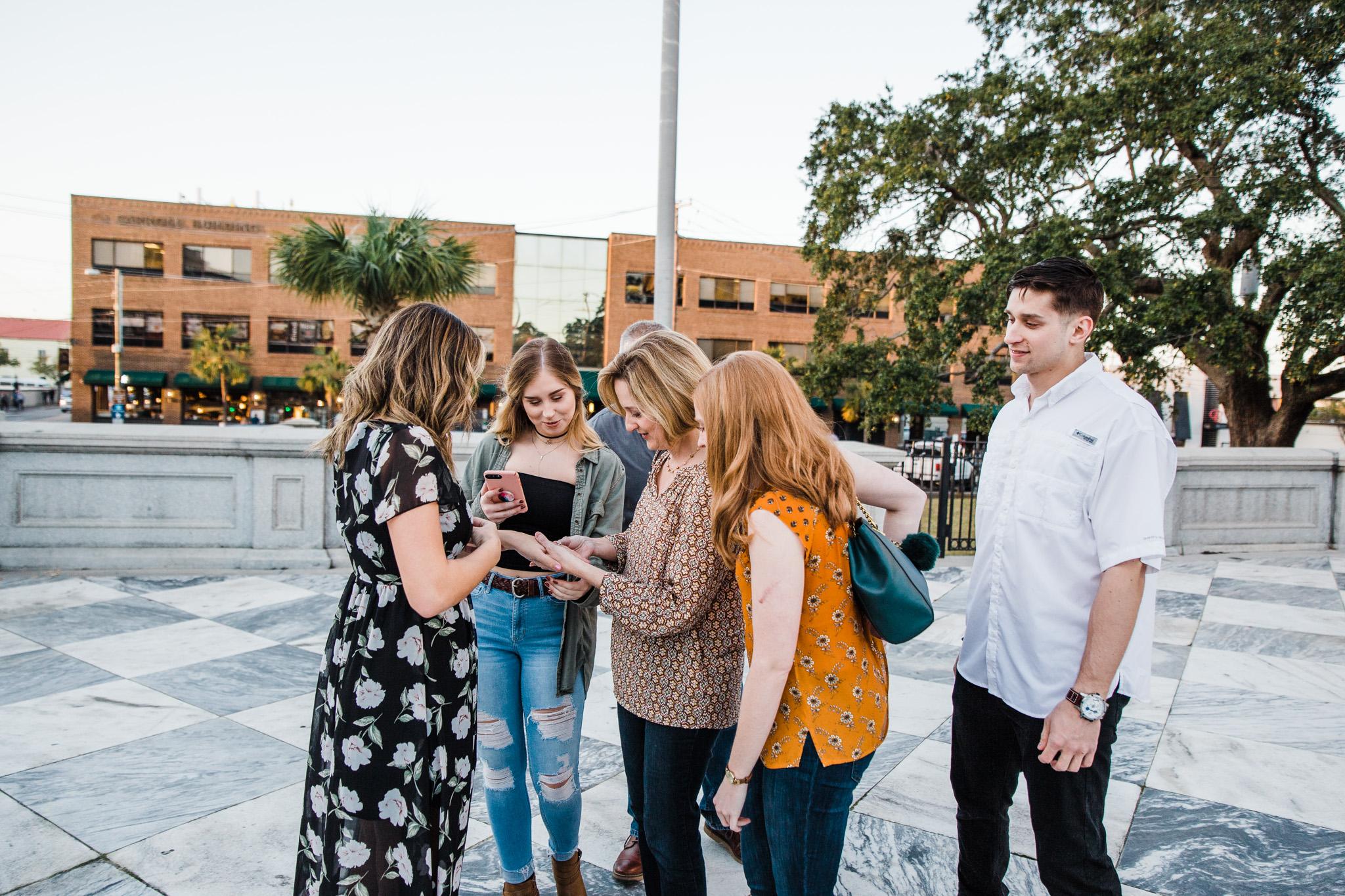 Charleston wedding proposal