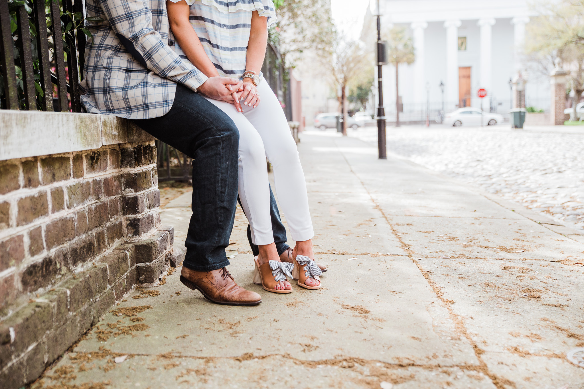 charleston engagment pictures