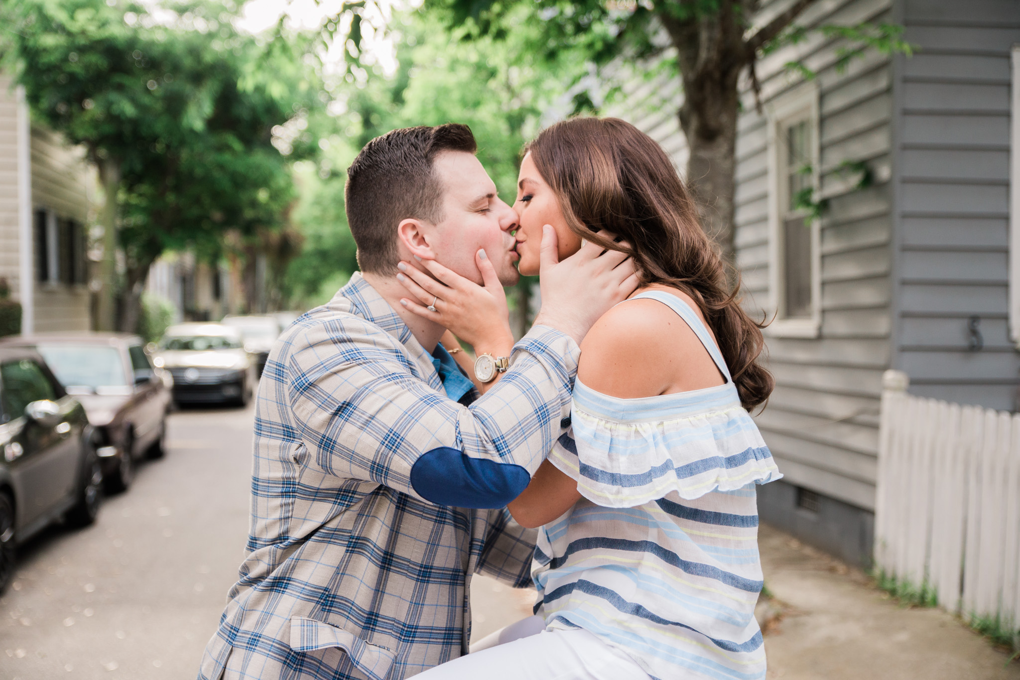charleston downtown engagement pictures